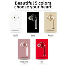 Mini Wireless Bluetooth 4.1 Earphones Earbuds Q5 Earphone Headset Microphoe Apple Airpod IPHONE Android pair - jiansheng Electronic store
