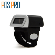 Free Shipping IPBS043 Weirless laser mini bluetooth barcode Reader Portable Ring Barcode Scanner 1D/2D/QR/PDF417 codes Reader(China)