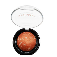 Selamy makeup cheek bronzer baked blush palette 8 colors Flushed Rubor Maquiagem Face Blusher by Miss Rose SY010