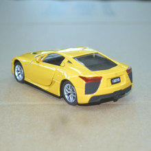 Brand New JOYCITY 1/36 Scale JAPAN Lexus LFA Diecast Metal Pull Back Car Model Toy For Gift/Kids/Collection(China)