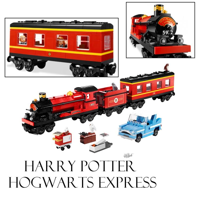 LEPIN 16031 724pcs Harry Potter Hogwarts Express Building Blocks Bricks Educational DIY Toys for children Christmas Gift 4841<br>