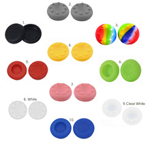 Bevigac 2Pcs Analog Controller Thumb Stick Grips Caps Cover Anti-slip Case Skin for Sony PlayStation PS 4 PS4 Xbox Controller