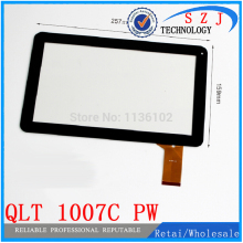 New 10.1'' inch Capacitve Touch Screen Panel QLT 1007C -- PW for Allwinner A20 Cortex A8 Digitizer Replacement Free shipping(China)