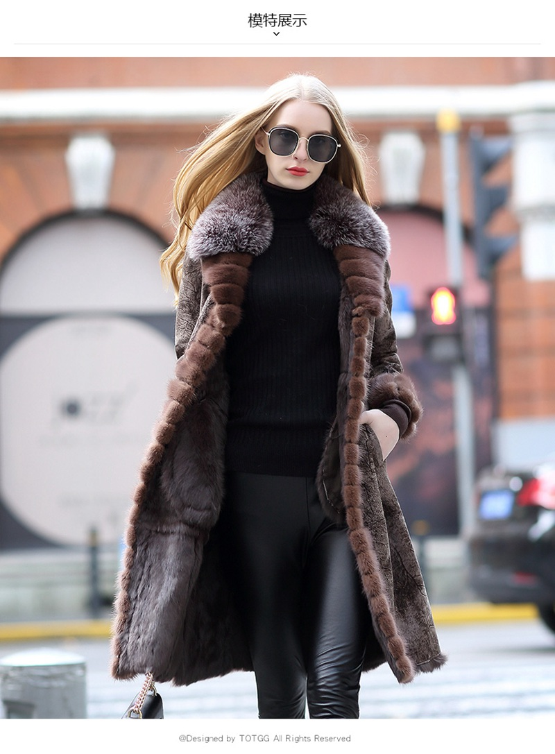 genuine real fur and leather jacket women (3)