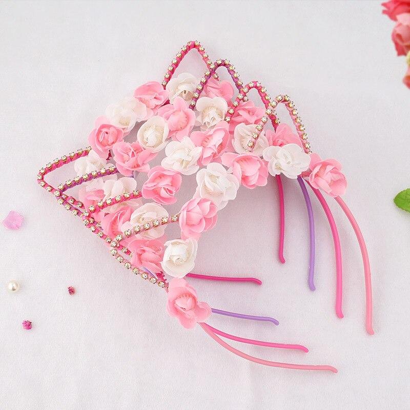 2019 Spring Flower Hairband Plastic Headband With ...
