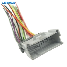 Car Radio CD Player Wiring Harness Audio Stereo Wire Adapter for Toyota/Hyundai Install Aftermarket CD/DVD Stereo #CA2954