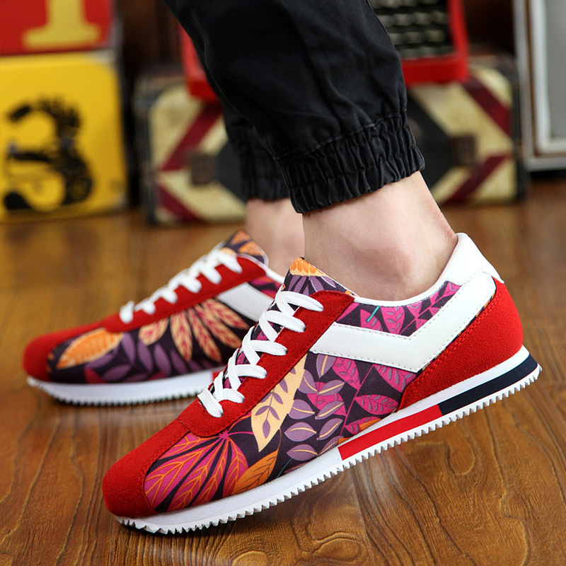 2017 Men Shoes Zapatillas Deportivas Lovers Shoes Zapatos Mujer Chaussure Femme Tenis Breathable Canvas Classic Leather Shoes<br><br>Aliexpress