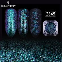12 Colors Starry Sky Nail Glitters Powder 1 Box Gorgeous Nail Art Dust Shinning Sequins Nail Art Decorations(China)
