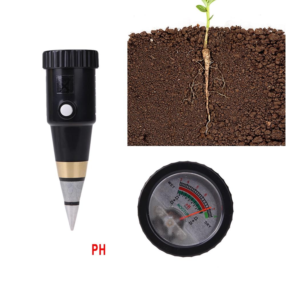 Handheld DIgital Soil Moisture Meter &amp; PH Level Tester For Plants Crops Flowers Vegetable Range 3-8 PH, Moisture 1-8, 160*48*48m<br>