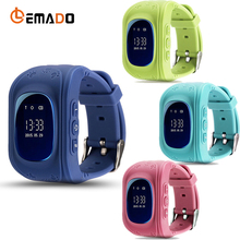Lemado Q50 Smart Watch Kids GPS Safe Tracker SOS Call Location Finder For Children Wearable Anti-Lost with SIM Card Cell Phone