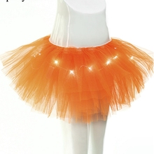 Buy Summer Women Skirts Adult Girls Ballet Skirt TUTU Women Charming LED Lights Dance Tutu Skirts Sexy Light Mini skirt Party for $9.00 in AliExpress store