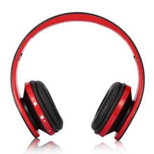 Foldable Wireless Headphone Stereo Bluetooth Headset Combo with Mic Support AUX For iPhone Cellphone PC Laptop 3.5mm Audio Jack(China)