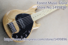 Hot Selling China Ash Solid Guitar Body 6 String Musicman Ray 5 Electric Bass Guitar For Sale