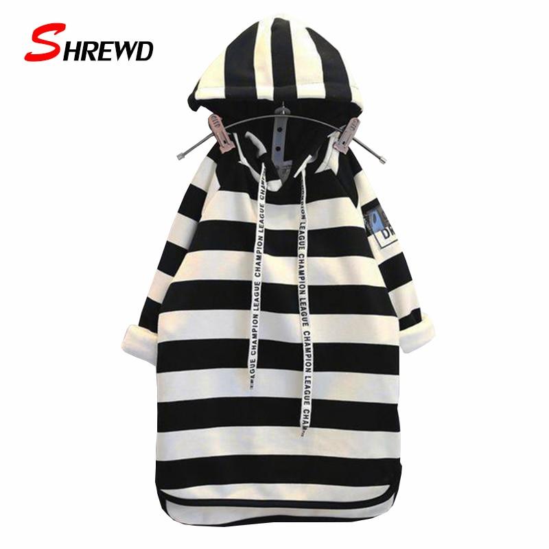 Dress Girl Baby 2017 New Winter Casual Striped Hooded Toddler Girl Dresses Plus Velvet Long Sleeve Kids Clothes Girls 6397Z<br><br>Aliexpress