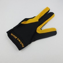 Pool billiards gloves 3 fingers POOL Cue Glove - L/XL snooker gloves Left Hand billiard supplies