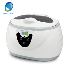 Digital Ultrasonic Cleaner Wash Bath Tank Baskets Jewelry Watches Dental 0.6L 35W 40kHz Ultrasound Mini UltraSonic Cleaner Bath(China)