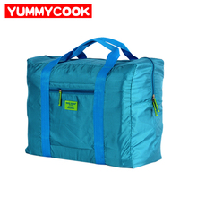 Portable Foldable Large Capacity Nylon Travel Clothes Storage Bags Thick Waterproof Mildew Move Pouch Accessories Supplies