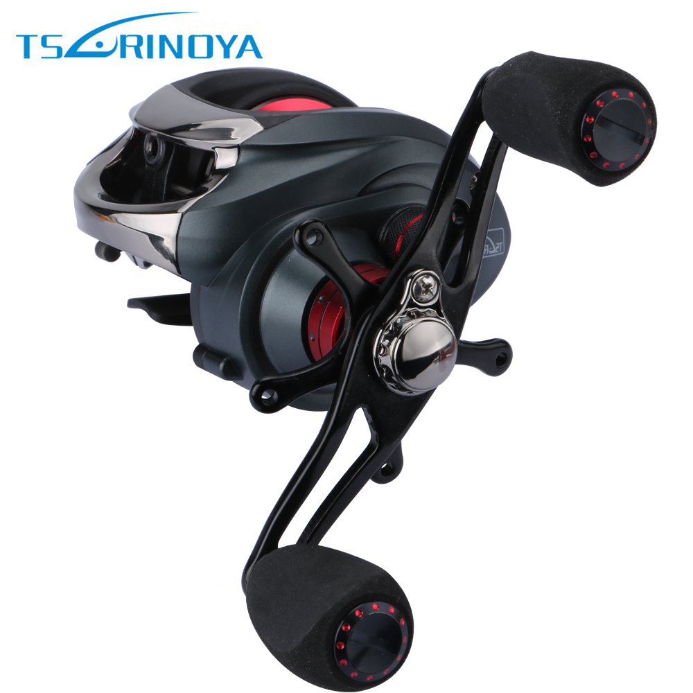 Trulinoya Fishing Reel 13+1 Bearings 1 Control Systems Right Left Hand Bait Casting Reel Centrifugal  Fresh Water Anti-backlash<br>