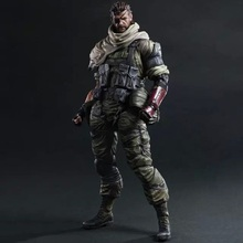 33cm SNAKE Play Arts Kai Metal Gear Solid V5 Phantom Pain PVC Action Figure Toys Collectors Model With Box