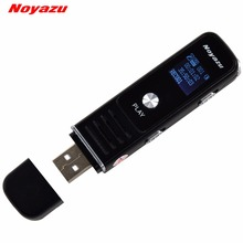 Noyazu 905 Digital Voice Recorder LCD Display MP3 Player U Flash Drive TF Rechargeable USB Interface Dictaphone Recorder(China)