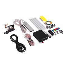 Hot Selling 1 set Complete Tattoo Kit Set Equipment Machine Power Supply gun Color Inks Best Selling