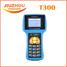 2016 Newest Version 2015.08V T300 Key Programmer T 300 English Blue T 300 For Multi-Brand Vehicle Car Key Programming Tool(China)