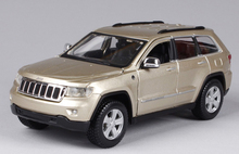 Toys For Boys Gifts Collections Brinquedos 1/24 2011 Jeep Grand Cherokee Golden White Red Diecast Car Model