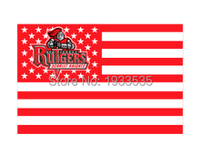 Rutgers Scarlet Knights Team USA Fan Flag 3' x 5'(China)