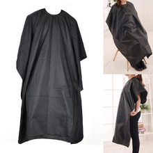 Waterproof Salon Barber Gown Cape Hairdresser Hair Cut Cutting Cloth Apron Black Household adult children cloth shawl 2016 B1