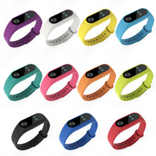 Buy 11 Colors TPU Replacement Wristband Wrist Strap Xiaomi Mi Band 2 Bracelet for $1.22 in AliExpress store
