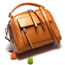 Hot sell genuine leather women's bags ladies handbag imported zipper bags famous brands shoulder  messenger bag 40Z