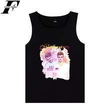 Buy Fashion BTS Kpop funny Tanks top Cotton Women Soft streetwear Style Sleeveless Tank Top Workout Casual plus size 4XL Vest for $5.99 in AliExpress store