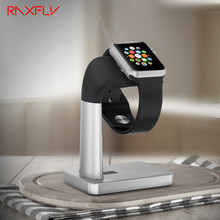 RAXFLY Smart Watch Charging Stand For Apple Watch iWatch Bracket Docking Station Stock Cradle Holder Smatwatch Desktop Support