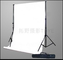 2x 2 meters wedding background frame retractable pole background cloth rack bag