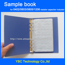 Resistor Capacitor Inductor Blank SMD Components Empty Blank Sample Book For 0402/0603/0805/1206 Electronic Component