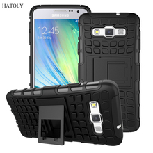 For Samsung Galaxy A3 Case A300 A300F Heavy Duty Armor Shockproof Hybrid Hard Silicone Rubber Phone Cover For Samsung A3 2015 *<