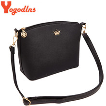 Yogodlns Casual Small Imperial Crown Candy Color Handbags New Clutches Lady Party Purse Women Crossbody Shoulder Messenger Bags
