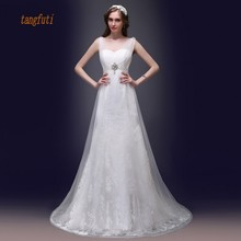 Buy Mermaid Wedding Dresses V Neck Beading Sequins Lace Long Bridal Dress Elegant Real Sample Women Gowns for $246.40 in AliExpress store