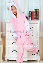 Kids Hello kitty anime onesies Pyjamas Cartoon Animal Cosplay Costume Pajamas Kids Onesies Sleepwear Halloween