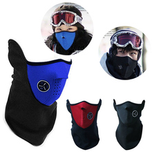 Winter Neck Guard Face Windproof Bike Bicycle Cycling Dust Mask Skiing Hiking Motorcycle Snowboard Sport Mouth-Muffle H5018
