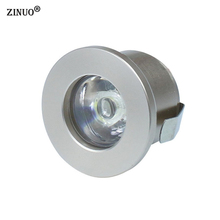 ZINUO 1PC 1W 3W Mini Led Cabinet Lamps Recessed Led downlight AC85-265V Spot light lamp include led driver For Kitchen Wardrobe(China)