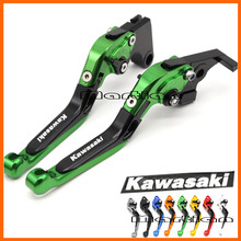 CNC Adjustable Motorcycle Brake Clutch Levers for Kawasaki Z750 (not Z750S model) 2007 2008 2009 2010 2011 2012