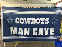 Cowboys MAN CAVE Flag star Dallas Cowboys Banner World Series 2016 Football Team Jerseys Flag 3ft X 5ft Dallas Cowboys Flags(China)