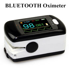 Bluetooth Wireless Finger tip pulse oximeter Blood Oxygen Saturation Monitor CMS50EW, USB SW, OLED Screen, CONTEC Oximetro(China)