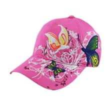 Embroidered Baseball Cap Lady Shopping Cycling Duck Tongue Hat women's floral pretty outdoor tennis sports caps(China)