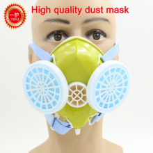 YIHU dust mask N95 ESD IXPE Foam respirator dust mask yellow rubber subject nonwovens industrial respirator mask safety fence