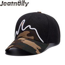 Camouflage Outdoors Snapback Sports Baseball Caps, Adjustable Hunting Camping Hiking,Cap Basketball Football Hat Adjustable(China)