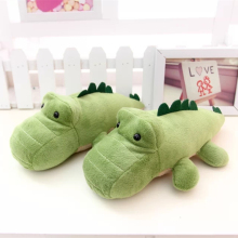 22Cm Cute cartoon crocodile stuffed dinosaur toy except taste bamboo charcoal toys with activated carbon high quality gift toys