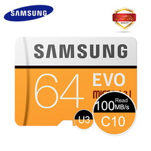 Buy SAMSUNG Memory Card 100Mb/s 128GB 64GB 32GB 16GB Micro SD Card Class 10 U3 Microsd Flash mini TF Card Phone SDHC SDXC for $6.91 in AliExpress store