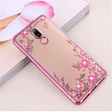 Buy Plating Soft TPU Phone case Huawei Mate 10 mate 9 8 7 mate 10 Pro Flower Bling Diamond Silicone Case Huawei mate 10 lite for $1.42 in AliExpress store